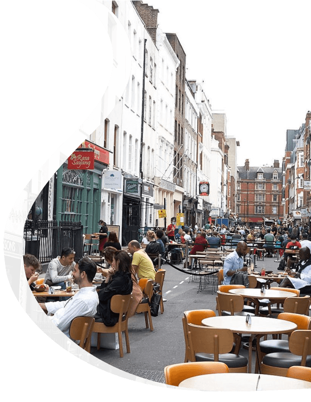 Restaurants on the Street - Pied Piper Pest